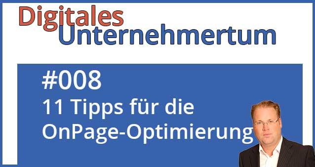 Mehr Sichtbarkeit bei Google – 11 Tipps für die OnPage-Optimierung #008