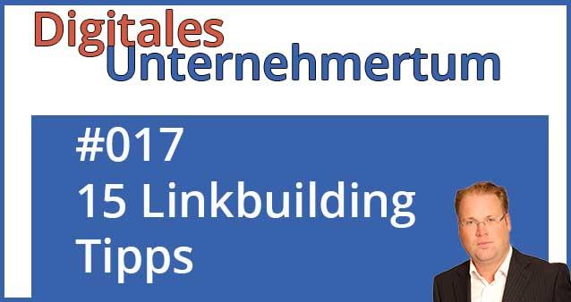 15 Tipps für das eigene Linkbuilding