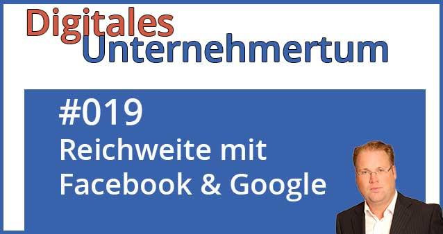 Reichweitenaufbau mit Social Media und Google Shopping – so geht's #019
