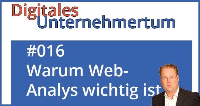 Warum Web-Analyse ein Muss im Online-Business ist!