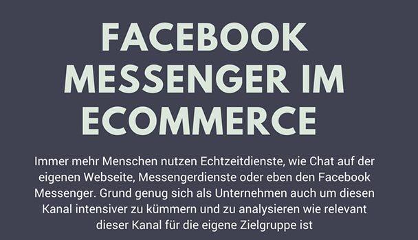 Facebook Messenger im Online-Business richtig einsetzen