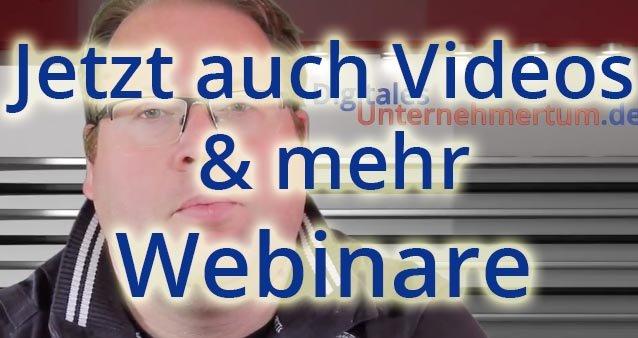 Digitales-Unternehmertum.de erweitert Service-Angebot!