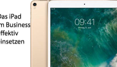 Mit dem iPad effizient im Business #060
