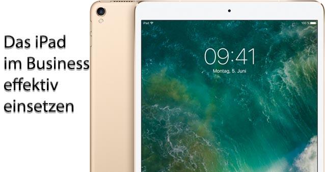 Mit dem iPad effizient im mobile Business #060