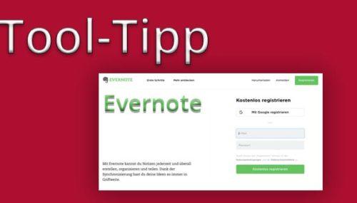 Tool-Tipp für effizienteres Business – Evernote #058