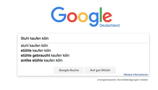 Google Suggest SEO