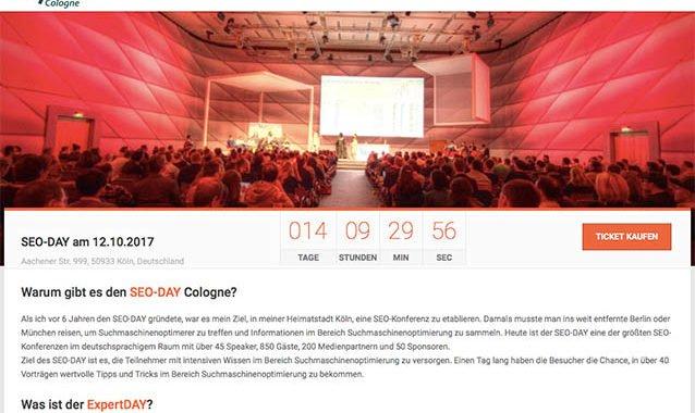Die besten Konferenzen: Der SEODAY stellt sich vor! #072