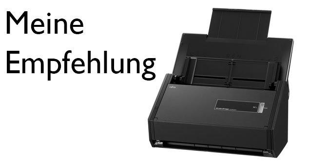 Der richtige Dokumentenscanner für dein papierloses Büro #097