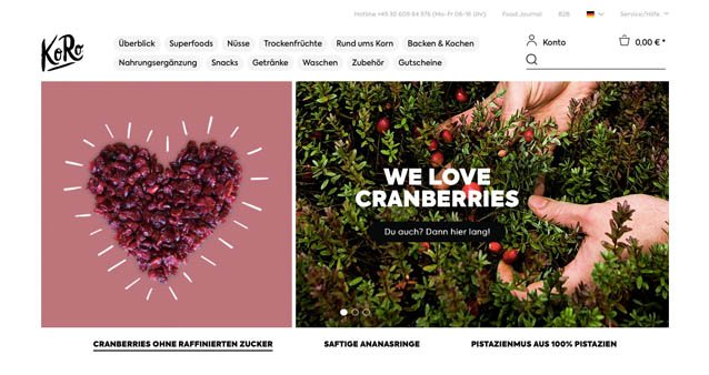 Wie korodrogerie.de ein Online-Business für haltbare Lebensmittel aufgebaut hat #120