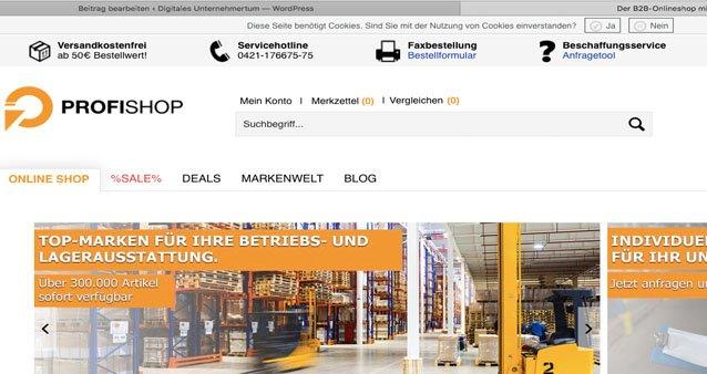 Wie die Macher von Profishop.de den B2B Markt erobern #130
