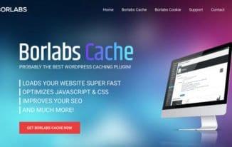 WordPress-Plugin: Borlabs Cache Plugin #131