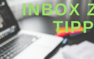 InBox Zero Tipps