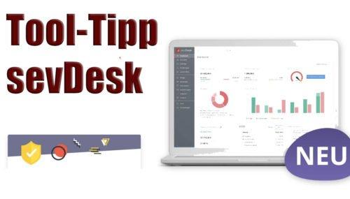 Tool-Tipp: Mit sevDesk deine Buchhaltung effizienter gestalten #188