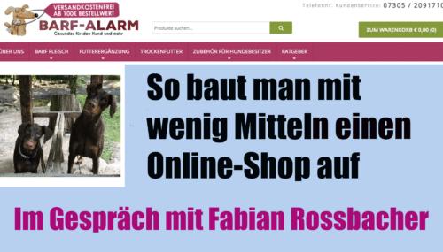 Von 0 auf 1 Millionen EUR Umsatz – so baut Fabian Rossbacher sein Ecommerce-Unternehmen auf #206