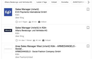 Google Jobs - Auswirkungen für Unternehmen