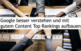 Mit dem richtigen Content Top-Rankings bei Google erzielen – jetzt anschauen!