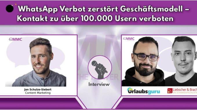 WhatsApp Verbot zerstört Geschäftsmodell – Kontakt zu über 100.000 Usern verboten