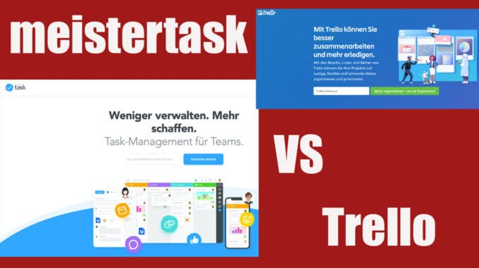 Trello vs. meistertask – Welches Tool ist besser? #240