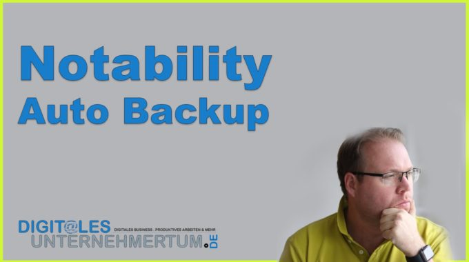 Quick-Tipp: Automatisches Backup bei Notability