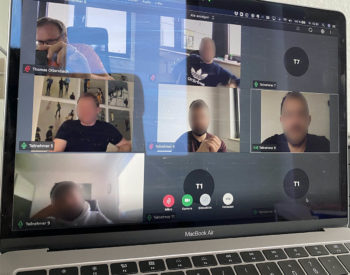 online meeting im Home Office