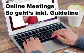 Online Meetings perfekt vorbereiten – inkl. Guideline für Teilnehmer #267
