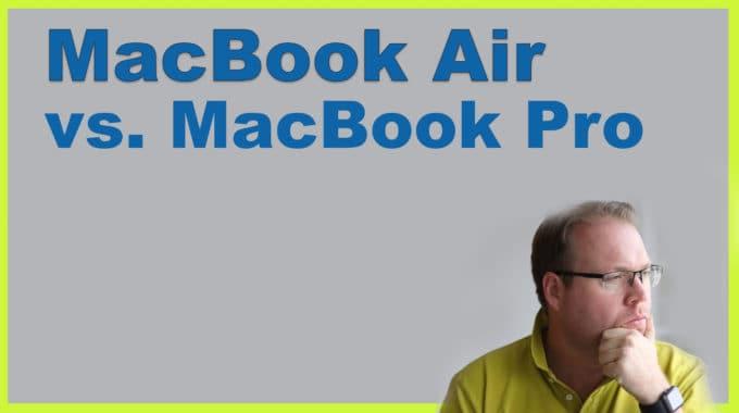 Warum ich vom MacBook Air auf das Macbook Pro umgestiegen bin und welche Software ich im Einsatz habe #278