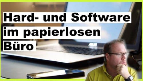 Die richtige Hard- und Software für das papierlose Büro #314